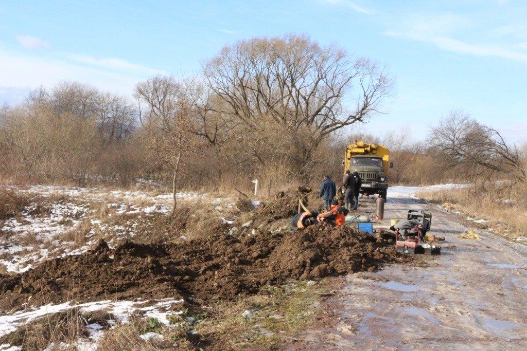 Зсув ґрунту поблизу Трускавця