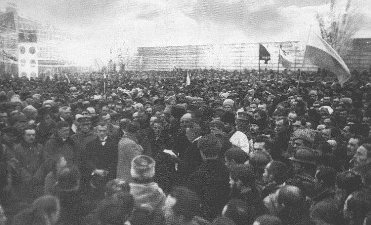 Урочисте проголошення Акту Злуки на Софійській площі в Києві, Фото: Історична правда