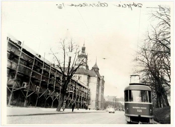 Вулиця Підвальна у 1970 роках, Фото: photo-lviv.in.ua