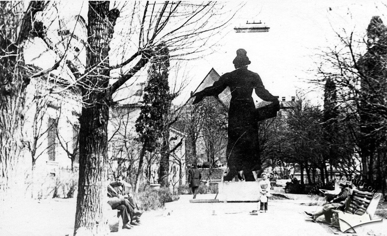Макет пам'ятника Івану Федорову у 1970 роках, Фото: Юліан Дорош