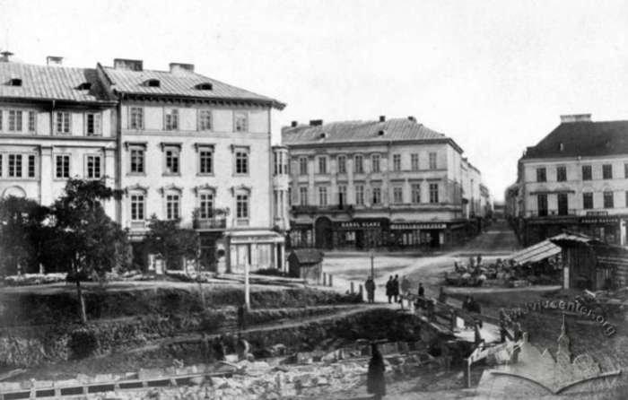 Роботи по закріпленню Полтви у 1880 роках, Фото: photo-lviv.in.ua