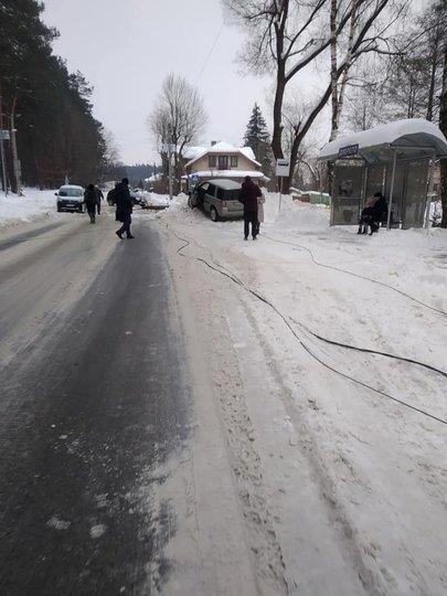 ДТП у Брюховичах 17 лютого