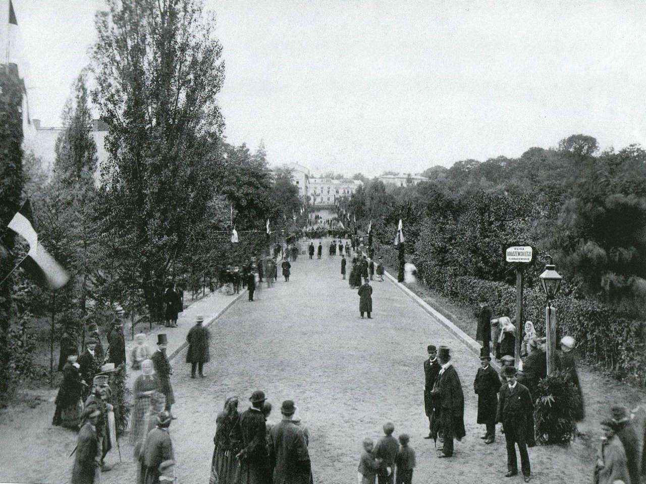 Відкриття вулиці Крушельницької у 1879 році, Фото: photo-lviv.in.ua
