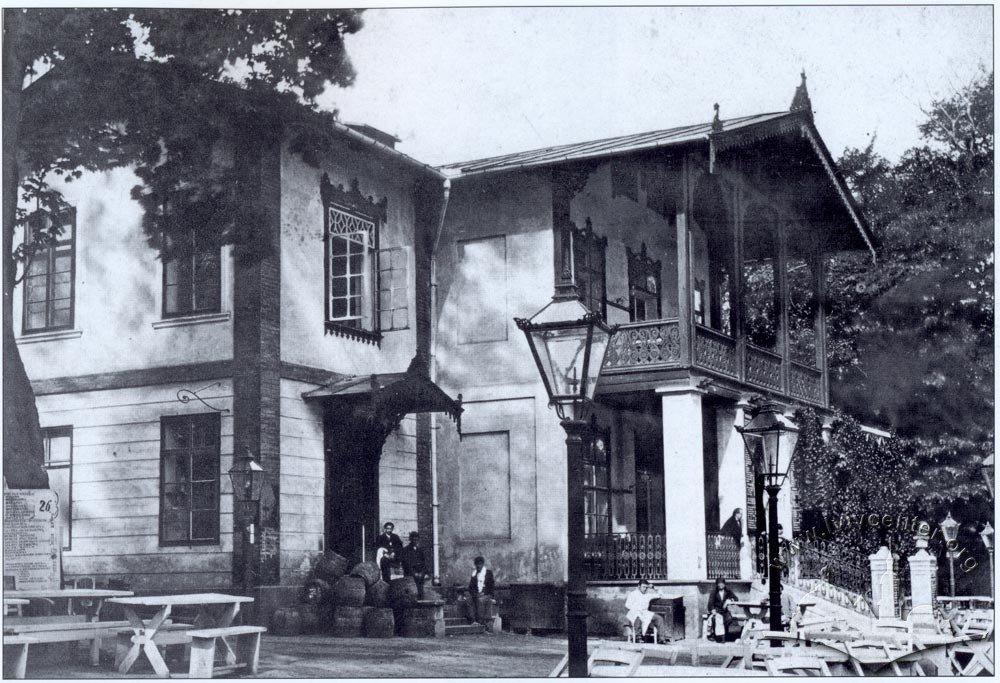 Ресторан (тепер Болгарське консульство) у 1900 р., Фото: photo-lviv.in.ua