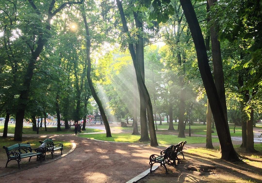 Парк ім. І. Франка у Львові, Фото: pinterest.es
