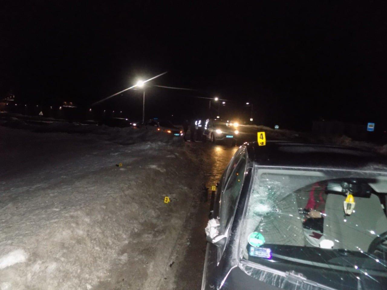 На САмбірщині водій збив 61-річного пішохода, Фото - поліція Львівщини