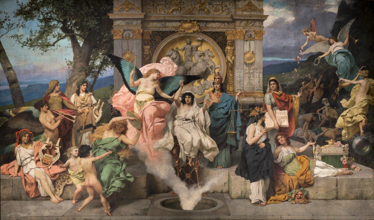 """Завіса """"Парнас"""" в Оперному театрі, Фото: opera.lviv.ua"""