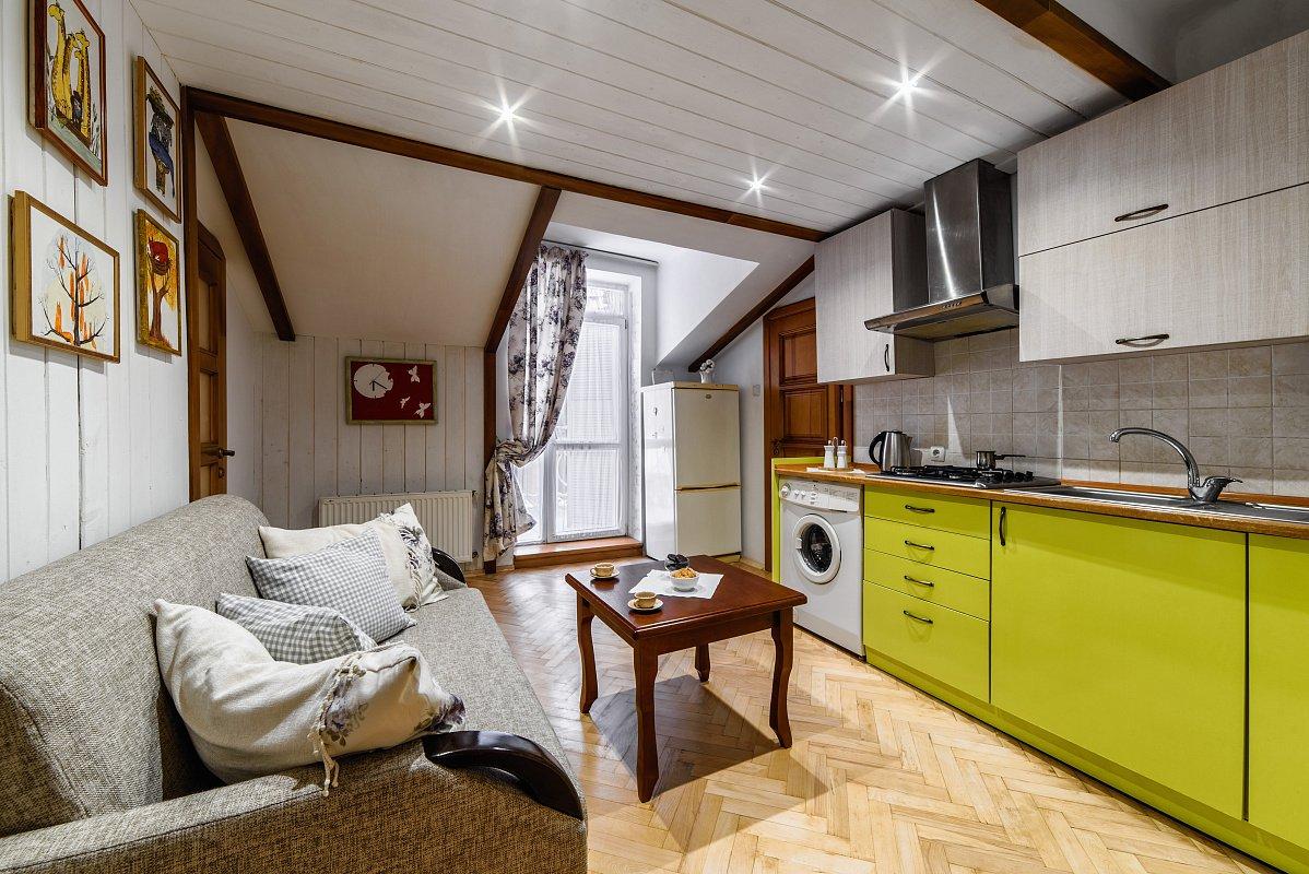 2-кімнатна квартира поблизу проспекту Шевченка, Скріншот - 032.ua