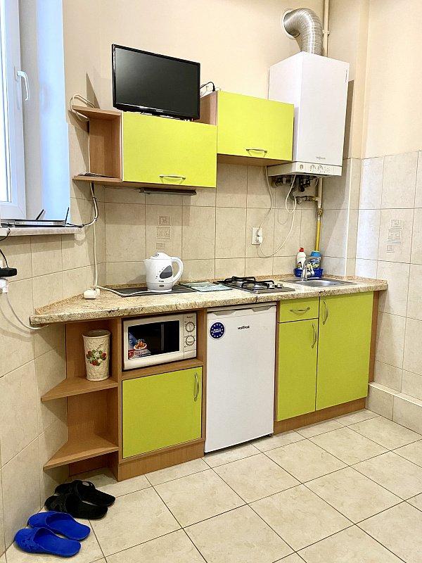 1-кімнатна квартира на вулиці Богомольця, Скріншот - 032.ua