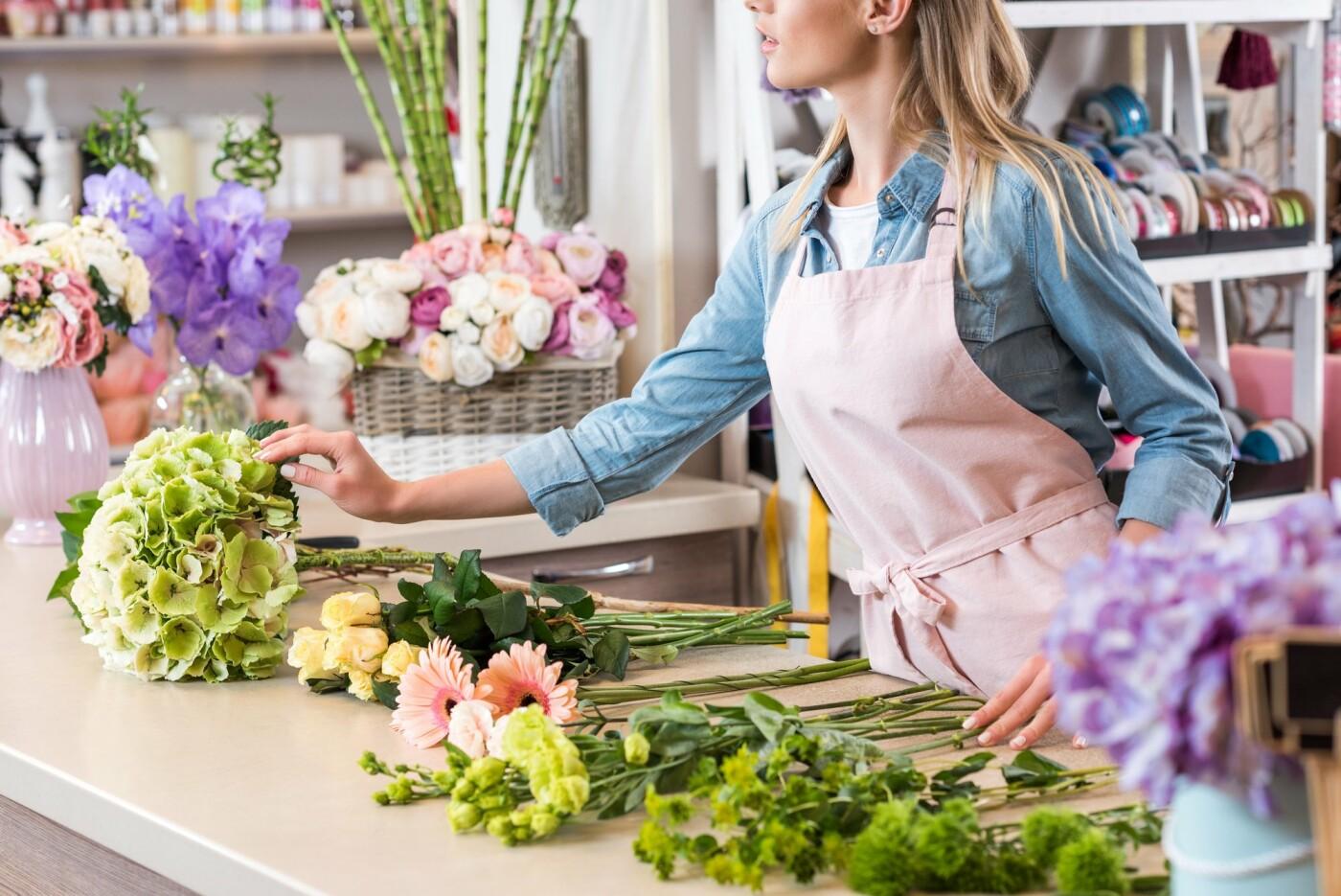 Робота флористом, Фото умовне: connect2local.com
