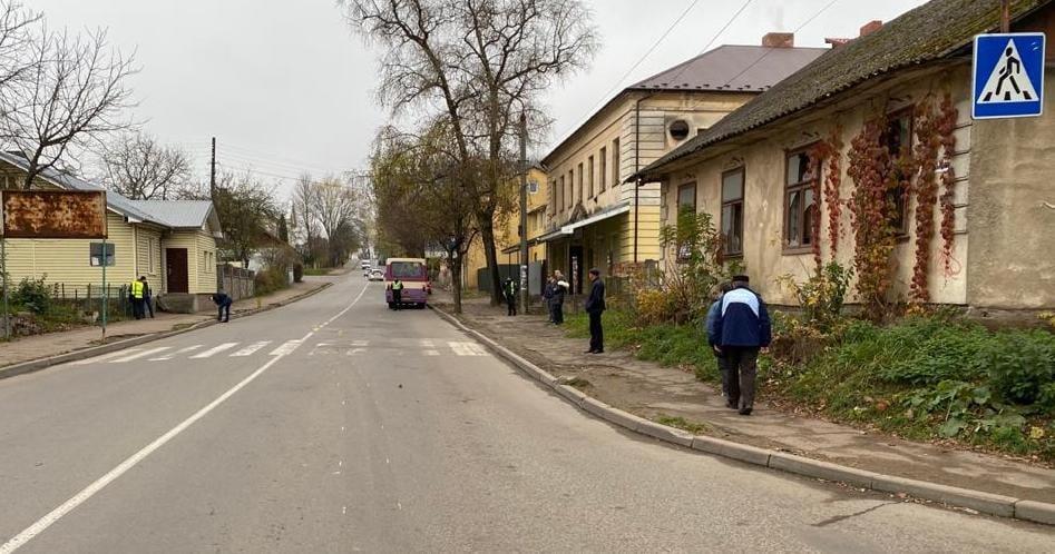 ДТП у Дрогобичі, Фото: пресслужби поліції Львівщини