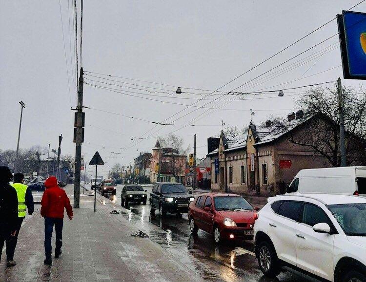 Реконструкція контактної мережі на вулиці Кульпарківській, Фото - Львівелектротранс