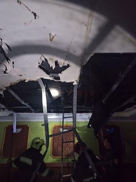 Пожежа у Червоноградському районі, Фото - ДСНС Львівщини