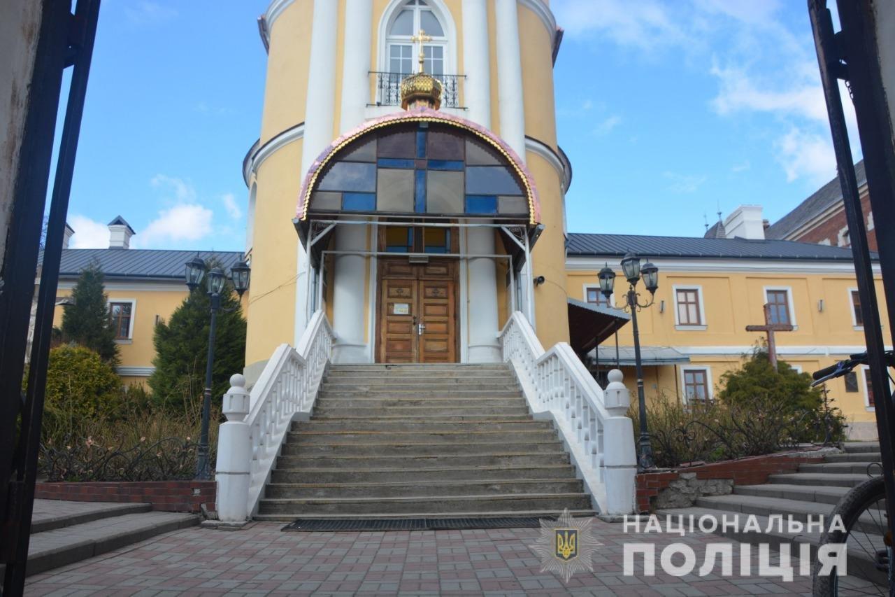 У Дрогобичі пограбували церкву, Фото: пресслужби поліції Львівщини