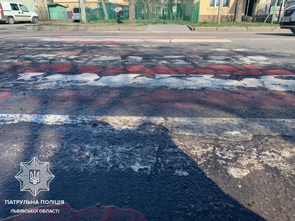 У Львівській області мірятимуть вибоїни на дорогах, Фото: патрульна поліція
