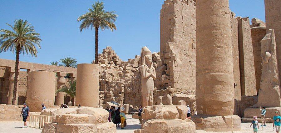 Карнакський храм у Єгипті, Фото - з відкритого доступу