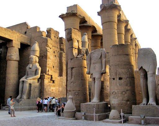 Луксорський храм у Єгипті, Фото - з відкритого доступу