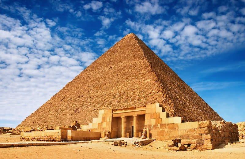 Піраміда Хеопса у Єгипті, Фото - з відкритого доступу