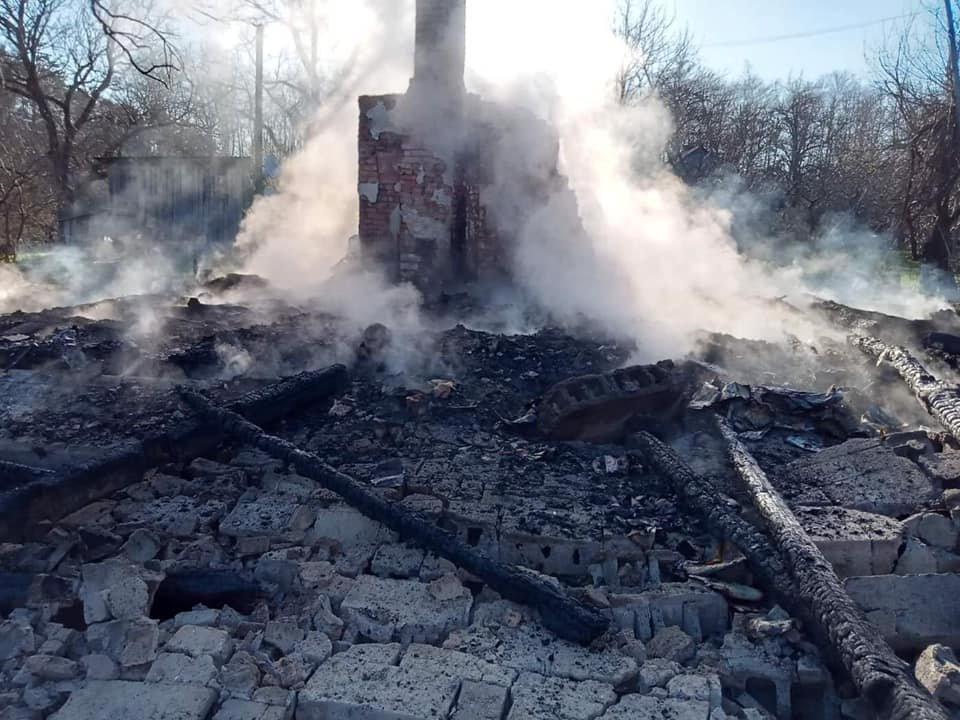 Пожежа у Яворівському районі 26 квітня, Фото - ДСНС Львівщини