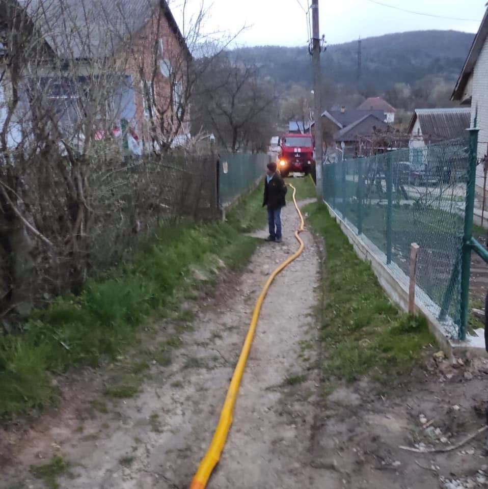 Пожежа у Стрийському районі, Фото - ДСНС Львівщини