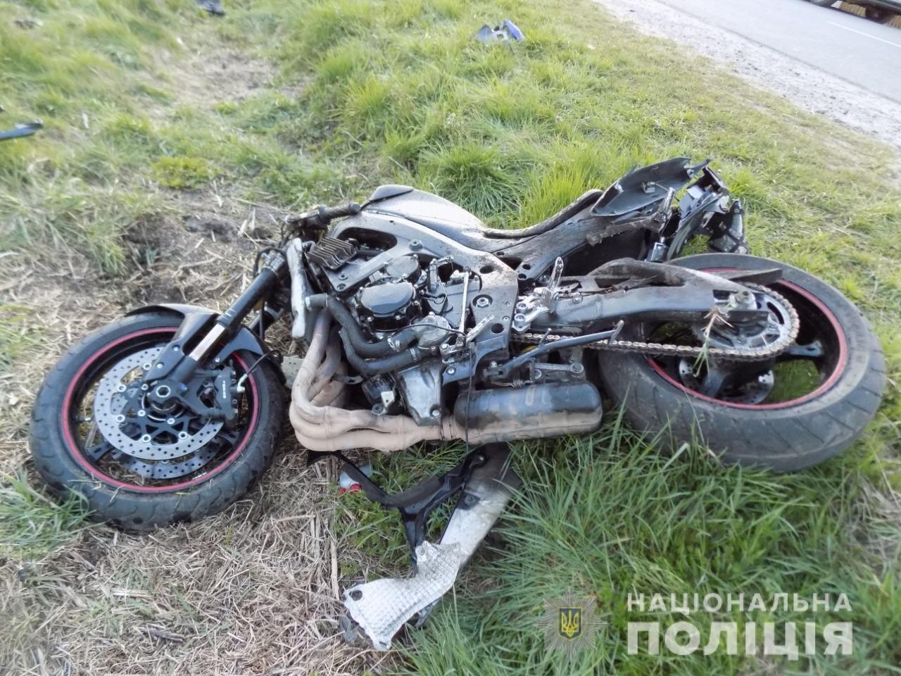 ДТП за участі мотоцикла та авто