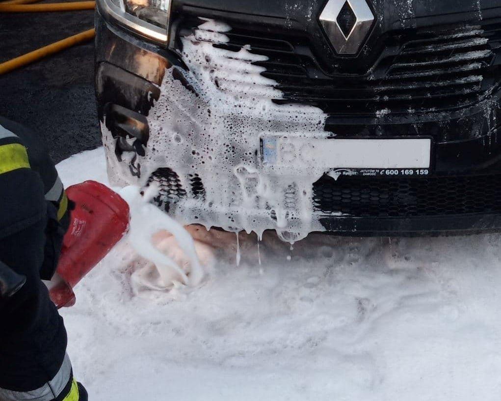 Пожежа у авто