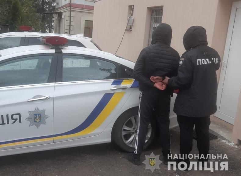 Поліція затримала автомобільного крадія