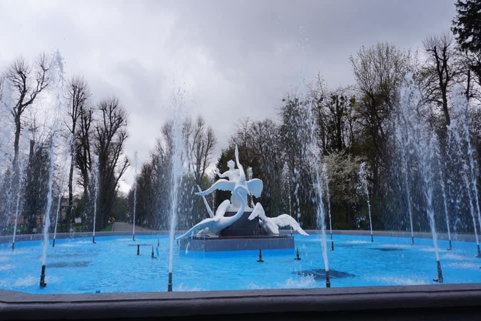 """Фонтан """"Івасик-Телесик"""", Фото: Стрийський парк, фейсбук"""