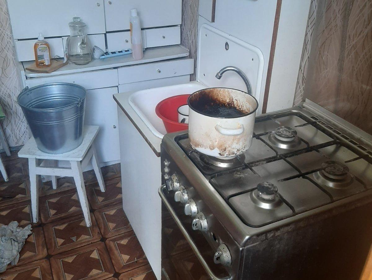На Львівщині через підгорання їжі госпіталізували жінку