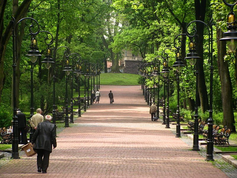 Парк імені Івана Франка у Львові, Фото: uk.wikipedia.org