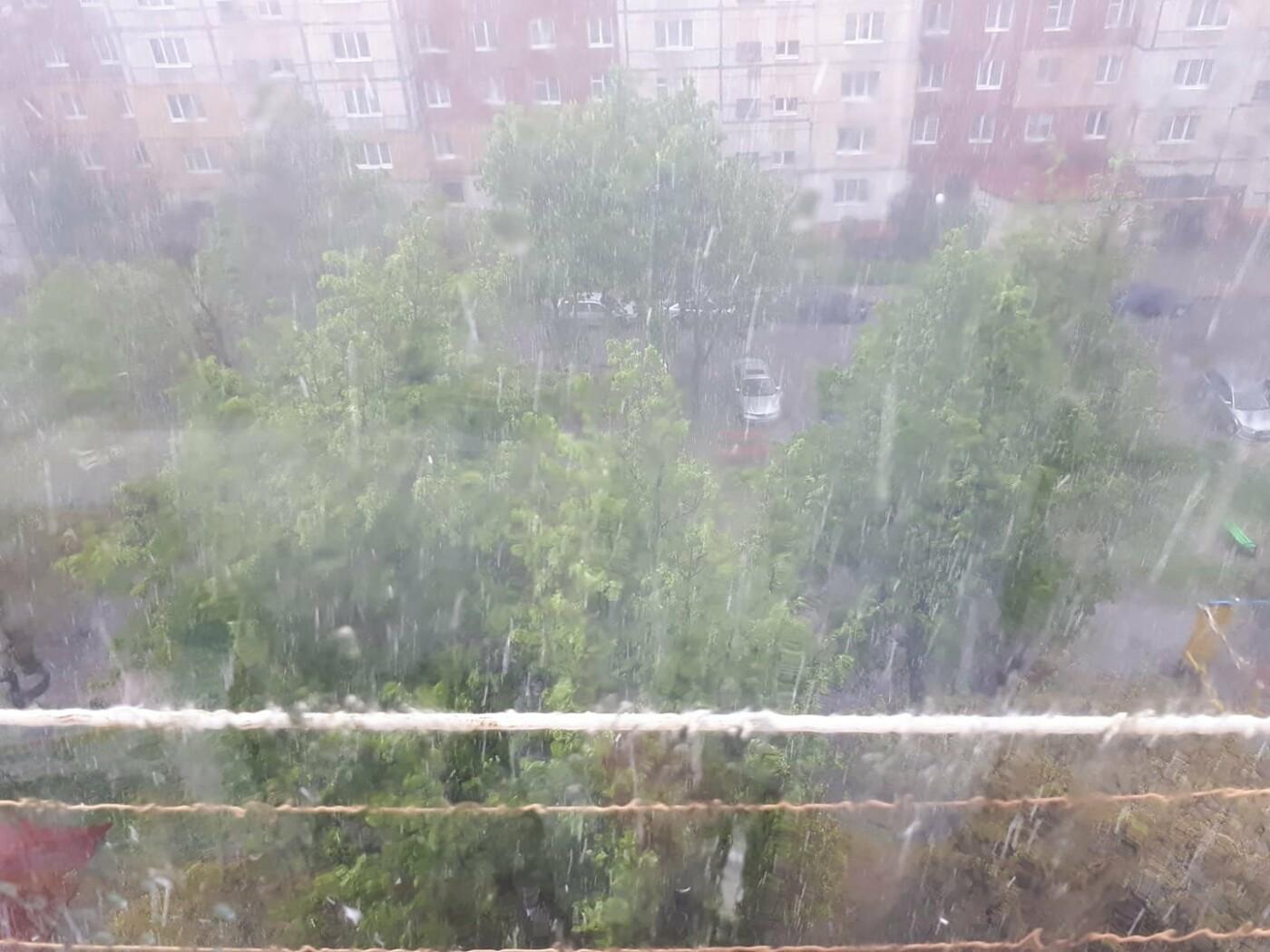 """Львів засипало градом, Фото: """"Варта 1"""""""