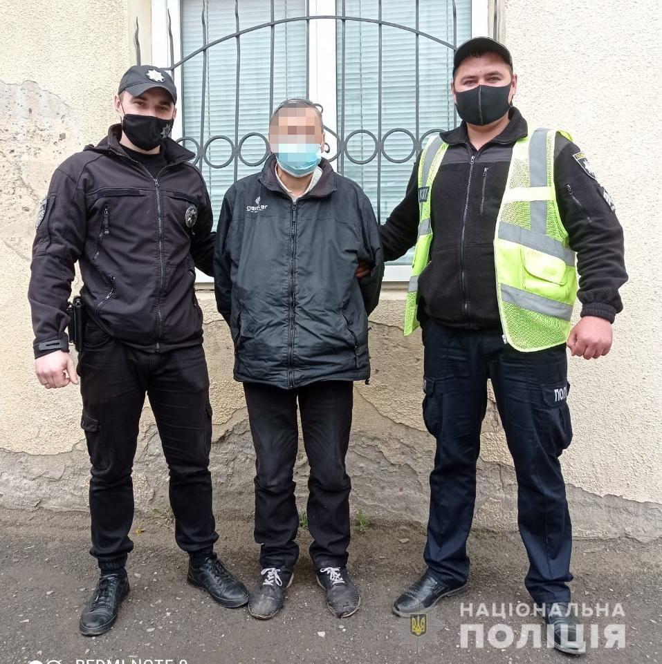 На Львівщині поліцейські затримали зловмисника, причетного до смертельного поранення своєї дружини