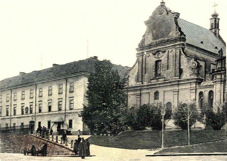 Львівський університет на вулиці Грушевського