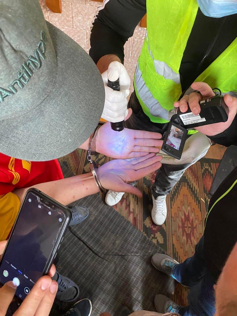 На Львівщині поліцейські затримали наркодилера, Фото: пресслужби поліції Львівщини