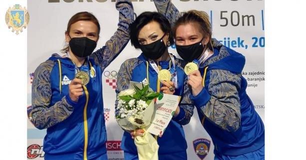 Українська команда виборола золото на чемпіонаті Європи  з кульової і стендової стрільби, Фото - ЛОДА