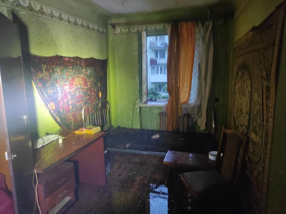 На Львівщині горіла квартира