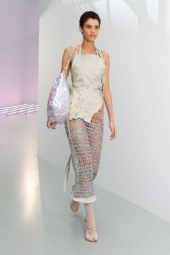 Трендовий прозорий одяг влітку 2021, Фото - pinterest