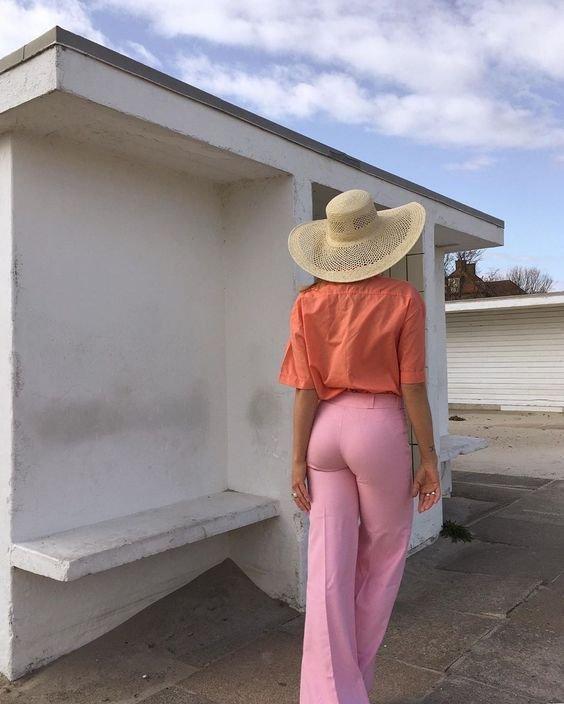 Трендові речі рожевого кольору на літо 2021, Фото - pinterest