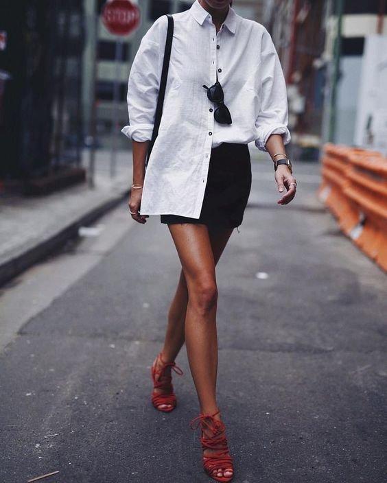 Трендові оверсайз сорочки на літо 2021, Фото - pinterest