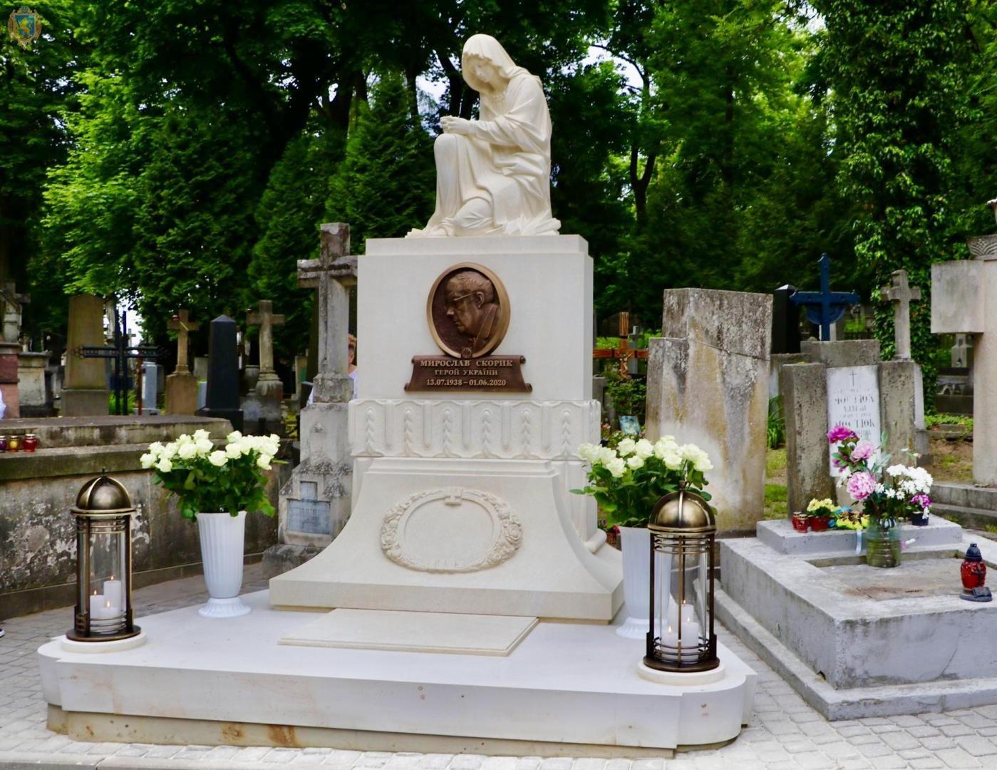На Личакові відкрили пам'ятник музичному генію Мирославу Скорику, - ФОТО, фото-1