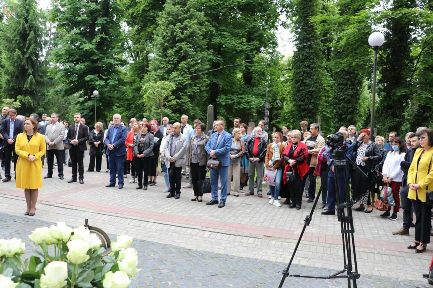 На Личакові відкрили пам'ятник музичному генію Мирославу Скорику, - ФОТО, фото-4
