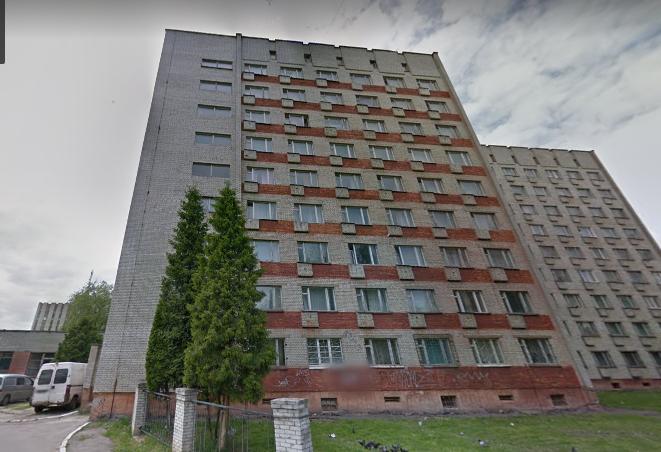 Гуртожиток на Лисинецькій, Знімок екрану: google.com/maps