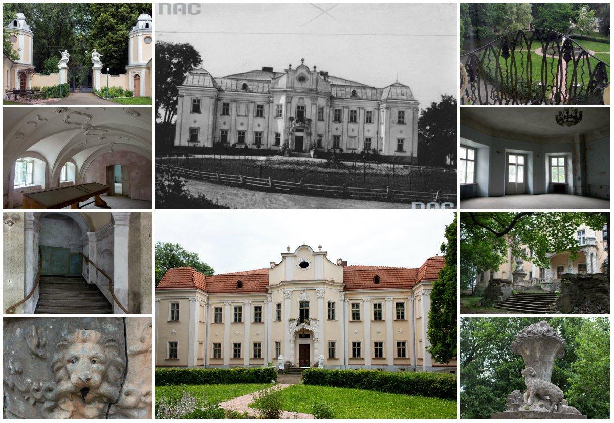 Палац архієпископів 18 століття в Оброшино, Фото - з відкритого доступу