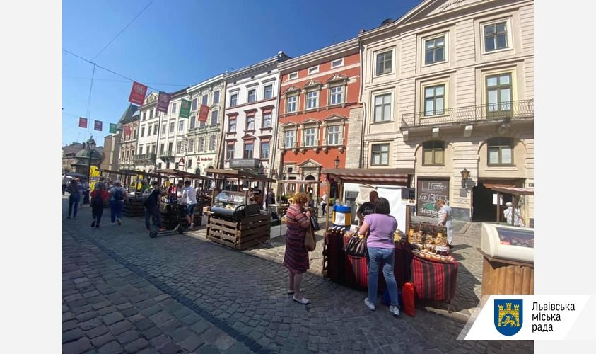 У центрі Львова відкрився фермерський ярмарок, - ФОТО, фото-1, Фото: Львівська міськрада