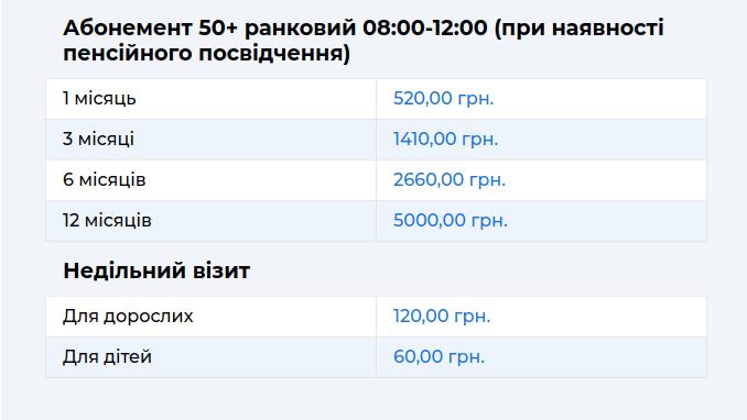 """Басейн в оздоровчому комплексі """"Три Стихії"""", Фото: Знімок екрану зі сайту trystyhii"""
