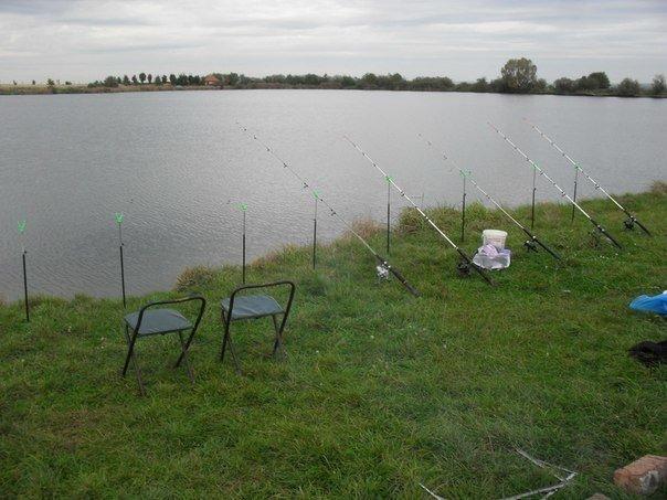 Риболовля у селі Завидовичі, Фото: rivnefish.com