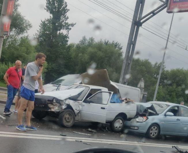 """ДТП на перехресті Стрийська - Наукова, Фото - """"Варта - 1"""""""
