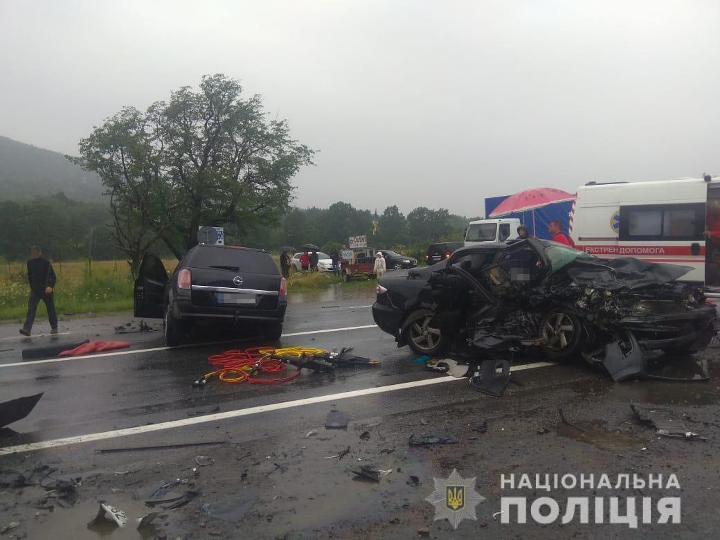 Смертельна ДТП на Львівщині, Фото: поліція