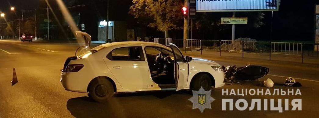 У Львові зіткнулися «Пежо» та скутер: постраждали дві людини, - ФОТО, фото-2
