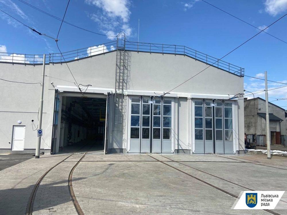 З 12 вересня всі трамваї Львова будуть виїжджати з нового депо, - ФОТО, фото-1, Фото: ЛМР